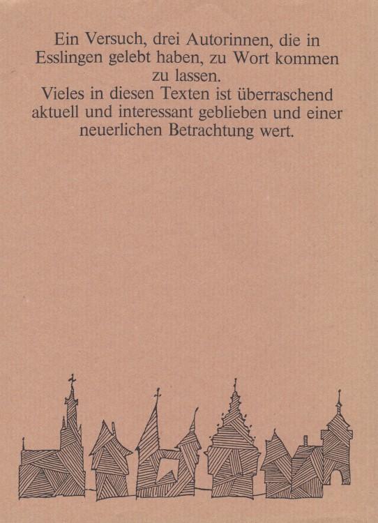 Anne-Birk-Anna-Schieber-Emma-Waiblinger-Isolde-Kurz-Buch-Umschlag-Back-Rückseite