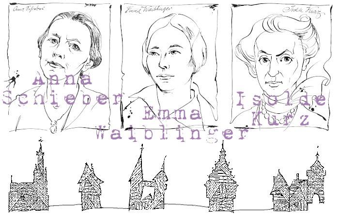 Anne-Birk-Anna-Schieber-Emma-Waiblinger-Isolde-Kurz-Essays-ROGEON-Verlag-eBook-Titelbild