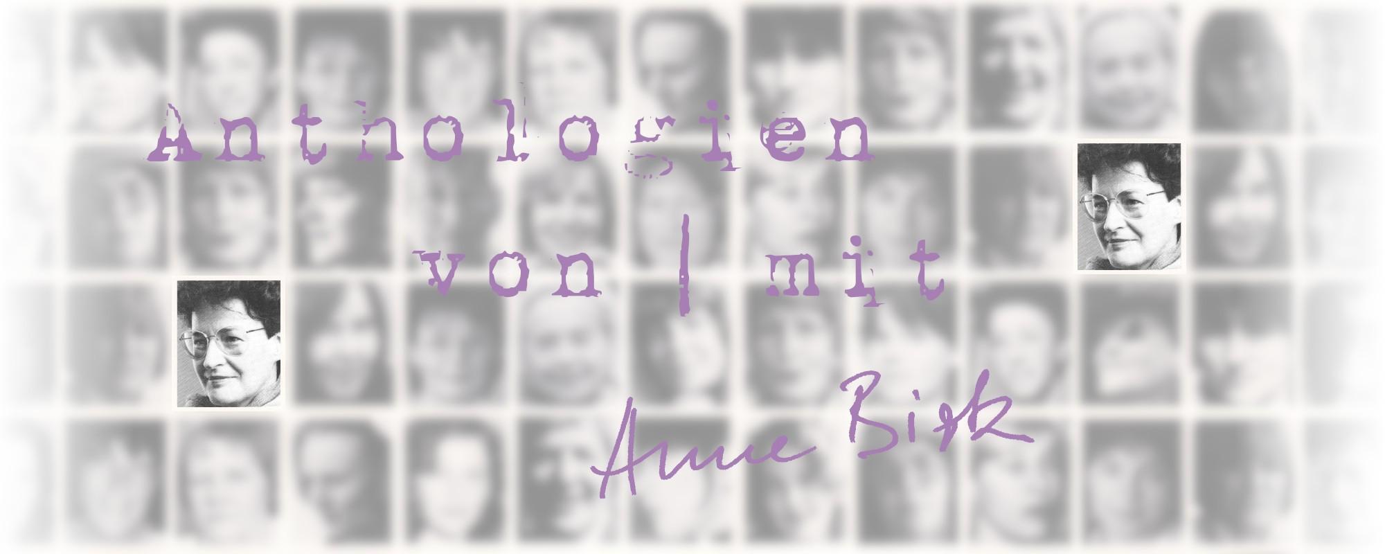Anne-Birk-Anthologien