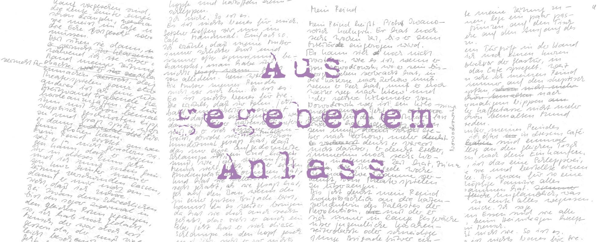 Anne-Birk-Aus-gegebenem-Anlass-Mein-Feind-Schriftbild