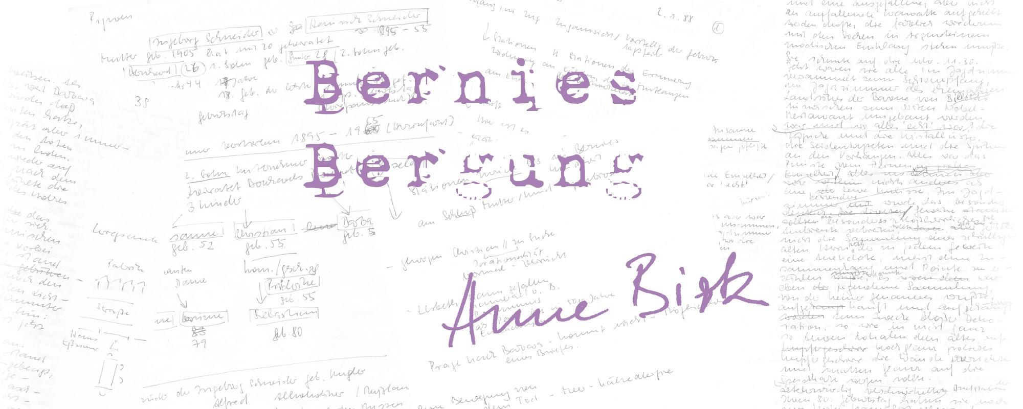 Anne-Birk-Bernies-Bergung-Schriftbild