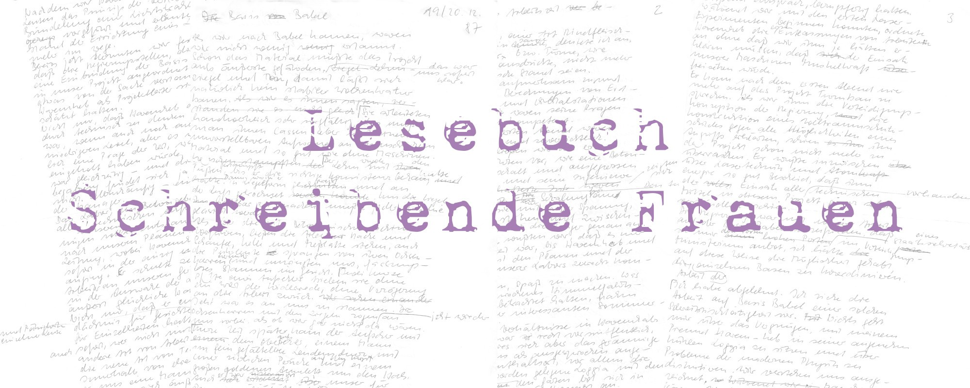 Anne-Birk-Lesebuch-Schreibende-Frauen-Basis-Babel-Schriftbild