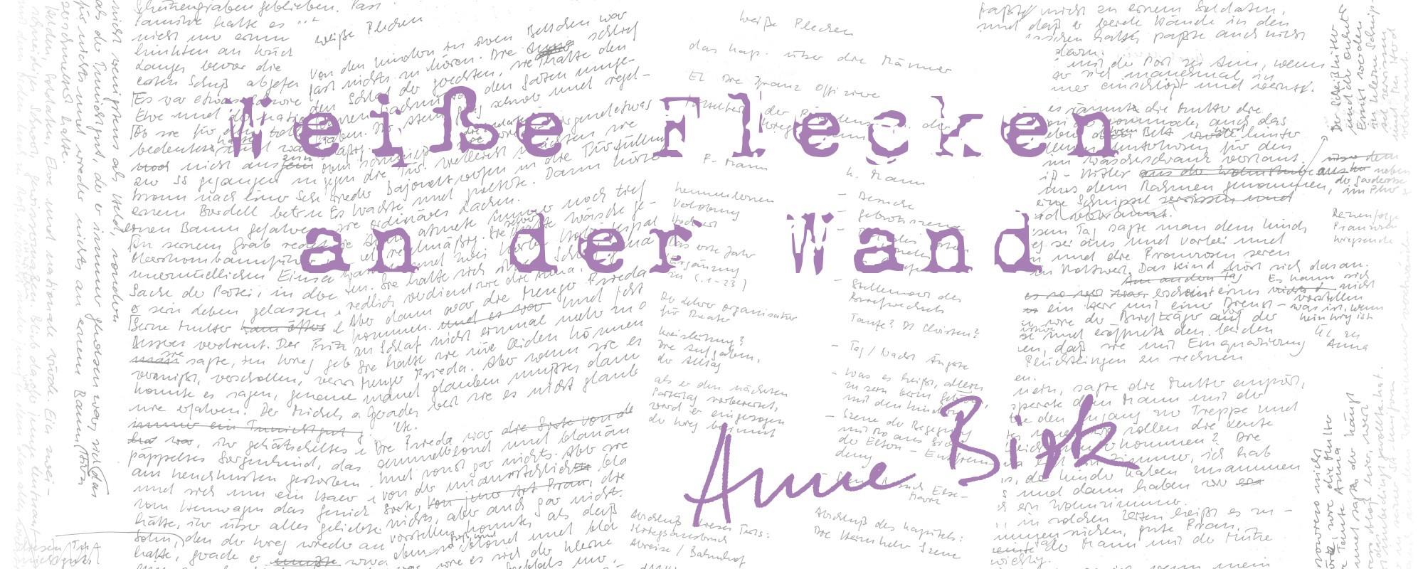 Anne-Birk-Weisse-Flecken-an-der-Wand-Schriftbild